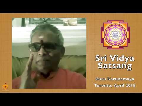 How to do Upasana I Sri Vidya I Guru Karunamaya I Soundarya Lahari