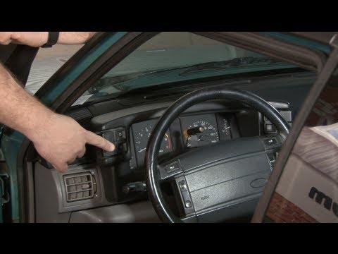 Mustang Instrument Bezel Lens 1990-1993 Installation