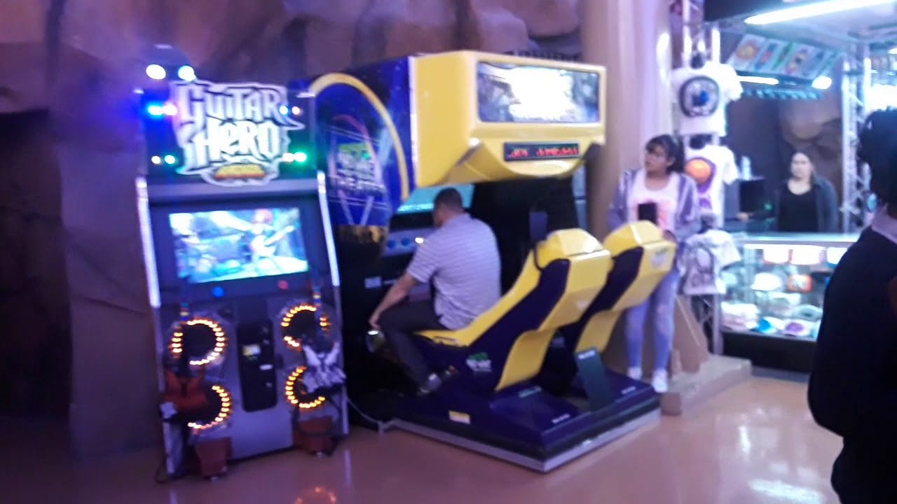Circus Circus Hotel And Casino Midway Arcade Walk Through