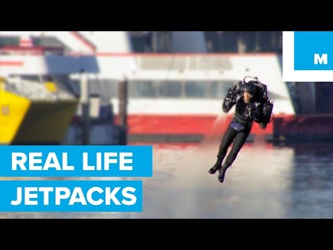 The Worlds First Jetpack