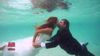 Underwater wedding photo-session in Maldives(This is a video about how to shooting a wedding photo-session underwater. It was filmed during the honeymoon on the Thoddoo island, Maldives. Videographer ..., 2015-10-27T12:40:20.000Z)
