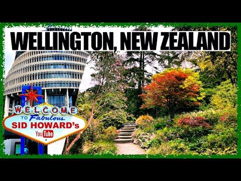 WELLINGTON NEW ZEALAND CITY TOUR   BOTANICAL GARDENS