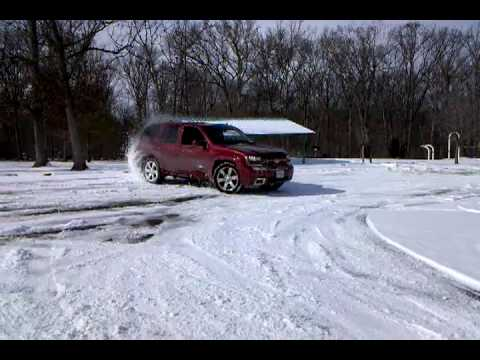 Trailblazer Ss Snow Drifts And Doughnuts Youtube