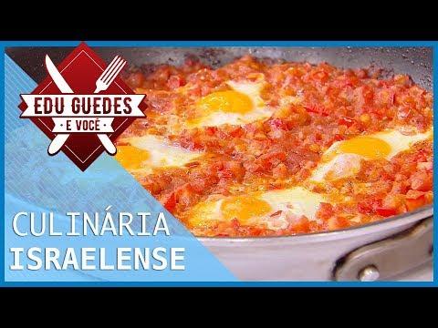 Cônsul-geral Ensina A Preparar Tahine, Shakshuka E Salada De Pepino Com Tomate