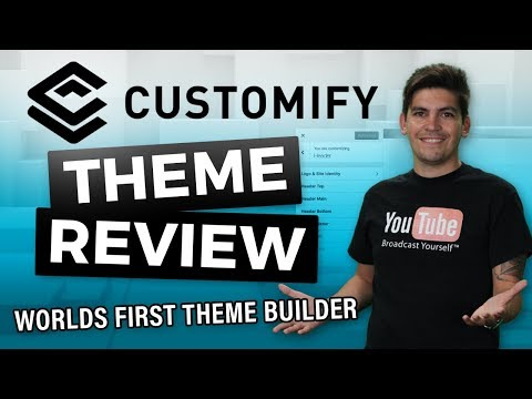 Customify Review – The First FREE WordPress Theme With A THEME BUILDER!