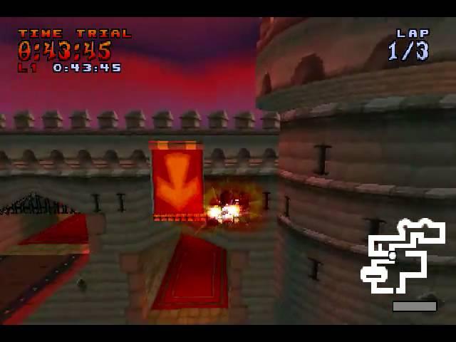 crash ctr ............cortex castle.....