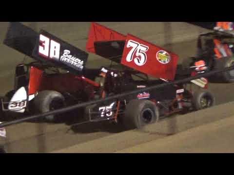 Canandaigua Speedway Brandyn Griffin feature 2 8/26/17