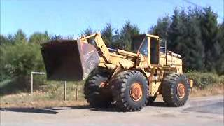 "Sold! Fiat Allis 945-B Articulated Wheel Loader 136"" Bucket Cab bidadoo.com"