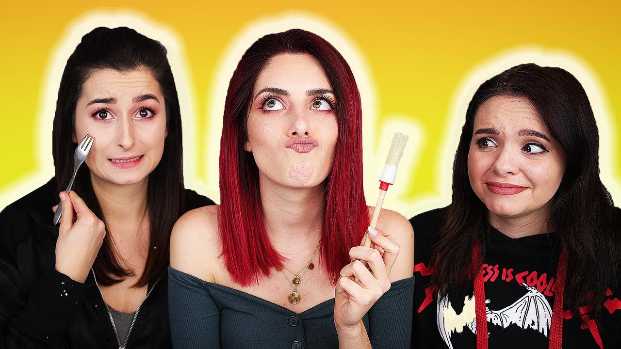Make up TABU Challenge 😭Unangenehme Fragen oder BESTRAFUNG 😏 mit unlikely #1
