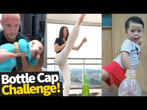 Bottle Cap Challenge Compilation 2019 - Who did it best?