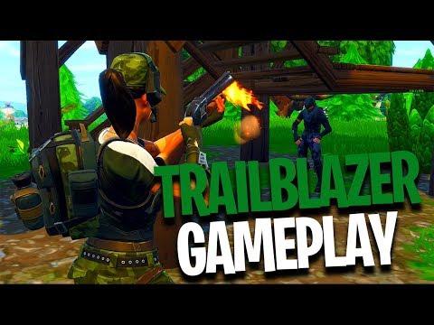 TrailBlazer Skin Gameplay!! | PC Fortnite Battle Royale | How To Get FREE SKINS!