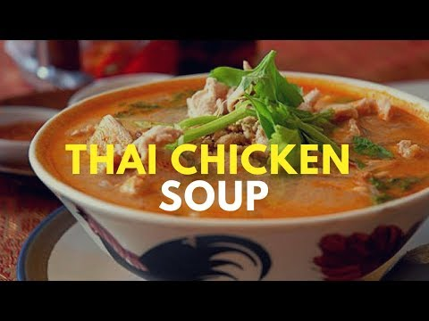 Thai Chicken Soup - Simple Style