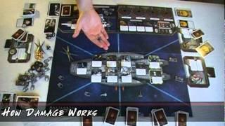 Battlestar Galactica (The Board Game) Tutorial (S01E11)