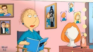 Lois had to use another hair!