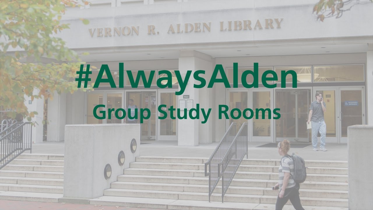 Alden Library Rooms