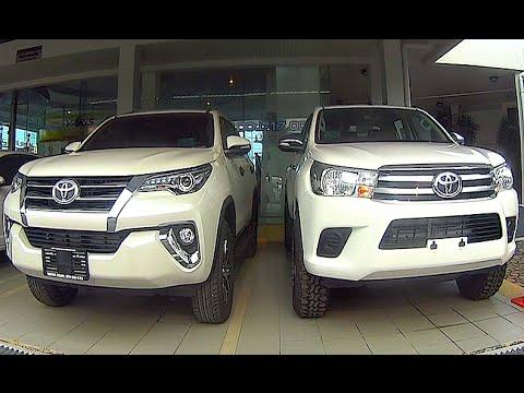 New 2015 2016 Toyota Hilux Revo Vs Toyota Fortuner