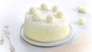 Торт Рафаэлло: Красивый и Обалденно Вкусный. Пошаговый Рецепт