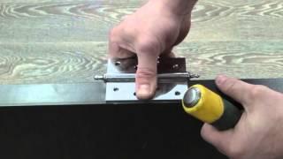 видео Врезка замков в металлические двери: технология выбора и монтажа
