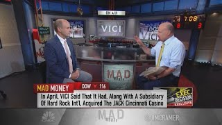 Vici Propeties CEO talks sports betting and real estate with Jim Cramer