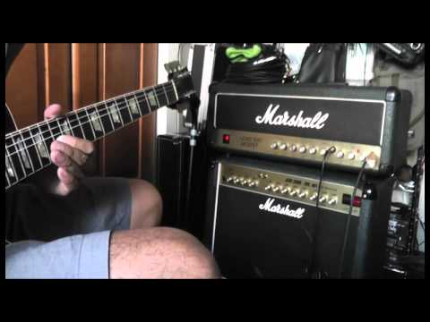 Marshall LEAD 100 MOSFET Model 3210 Demo.