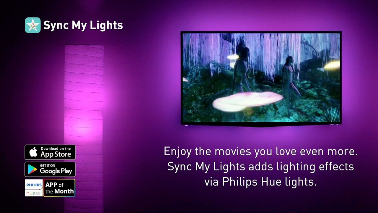 Sync My Lights Synchronized Philips Hue Lighting Experiences For Your  Favorite Movies