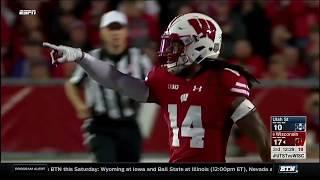 Utah State at Wisconsin - Football Highlights