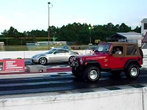 Turbo Wrangler Jeep Vs 350z