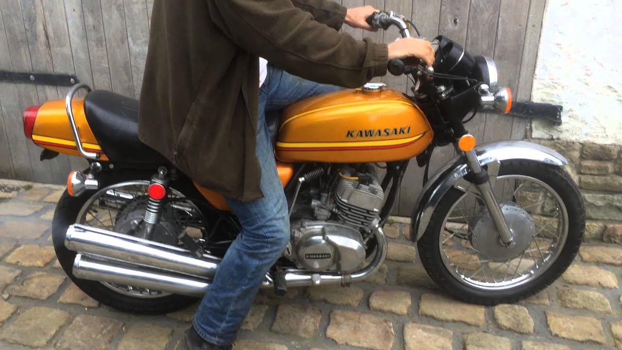 Kawasaki KH250 S1F for sale on ebay - YouTube