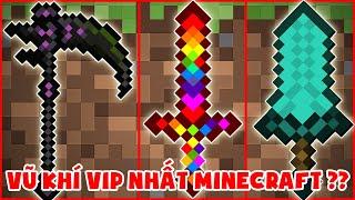 Các Vũ Khí Vip Nhất Trong Minecraft ??? Thử Thách Noob