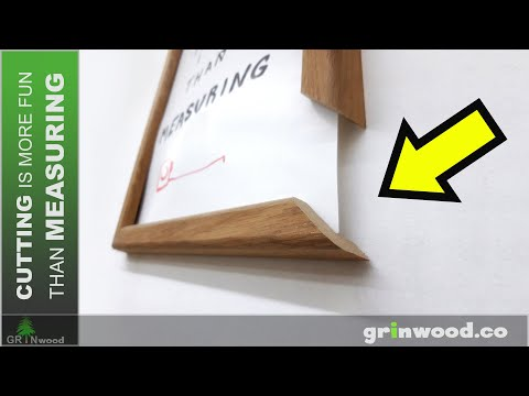 Making A Wooden Picture Frame 👉 How To Make A Picture Frame 👈 Easy Woodworking Project