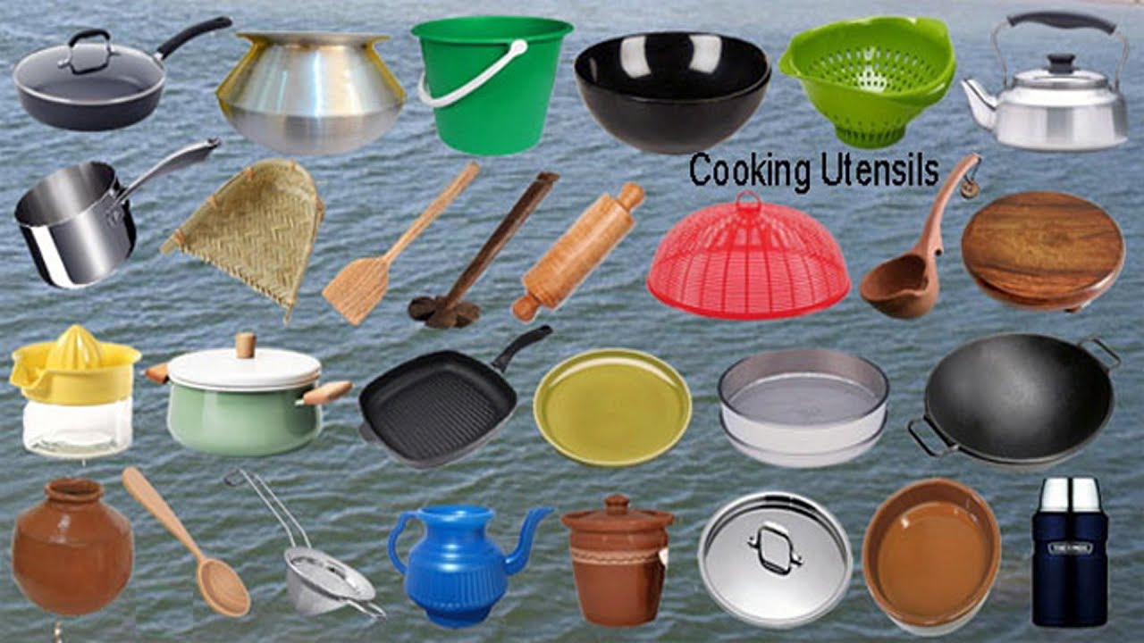 Kitchen Utensils Names With Meaning Wow Blog