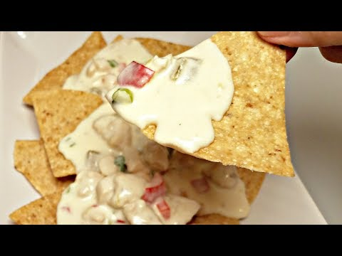 How to make velveeta queso blanco thinner
