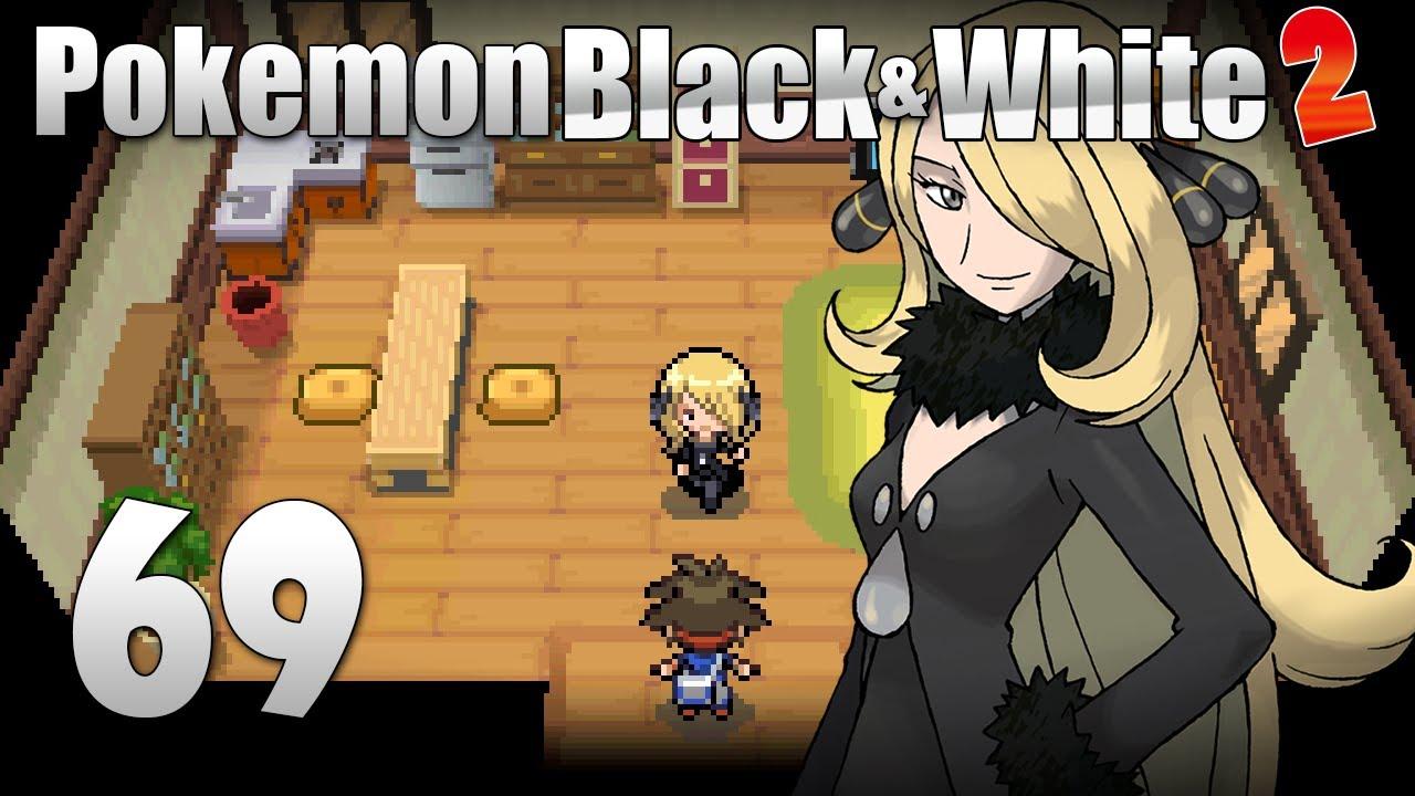 Pokémon Black & White 2 - Episode 69 [Cynthia Battle ...