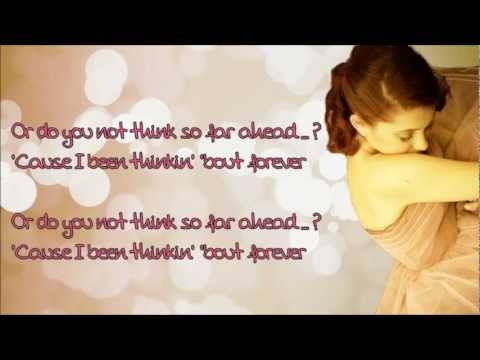 Ariana Grande - Thinking About You *Lyrics* Frank Ocean cover HD