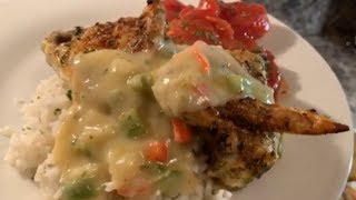 How to make smothered Chicken