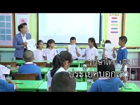 ภาษาไทย ป.2 ประโยคบอกเล่า ครูสุธีรา ไชยปัญญา