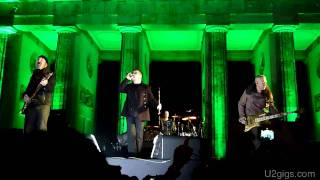 Download U2 & Jay-Z Sunday Bloody Sunday Berlin, Brandenburg Gate 2009-11-05 - U2gigs.com MP3 song and Music Video