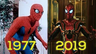Evolution of Spider-Man in Movies & TV (1977-2019)