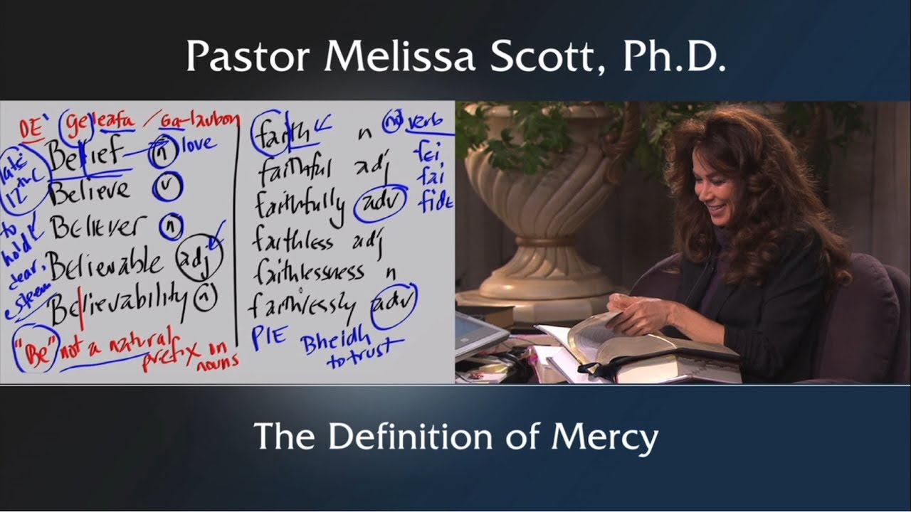 jude 1:2 word study: mercy - the definition of mercy - jude series