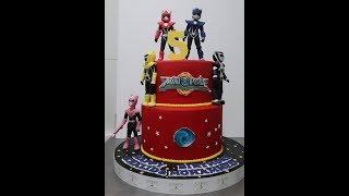 POWER RANGER  CAKE by LEaRN cake tvvlog#71