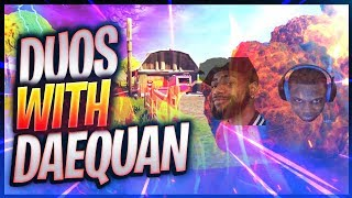 DUOS WITH TSM DAEQUAN | Fortnite - OPscT