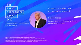 Keynote Address   The Event Freelancer Summit 2020