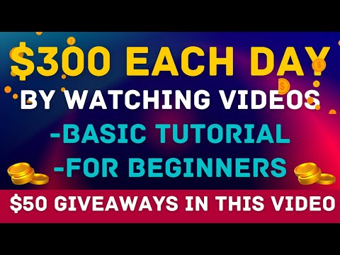 Earn $300 Per Day Watching Videos | Earn Free PayPal Money 2021