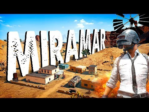 NEW PUBG MAP! Miramar Squads w/Sponsors Live Stream Gameplay | AWESOME MAP!