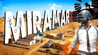 NEW PUBG MAP! Miramar Squads w/Sponsors Live Stream Gameplay   AWESOME MAP!