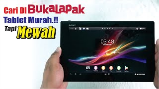 Tablet MEWAH 1.1juta Untuk Gaming.?? Unboxing Sony Xperia Tablet Z
