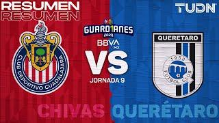 Resumen y goles | Chivas vs Querétaro | Guard1anes 2020 Liga BBVA MX - J9 | TUDN