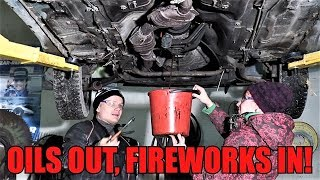 Setting Up ULTIMATE Car Fireworks Video