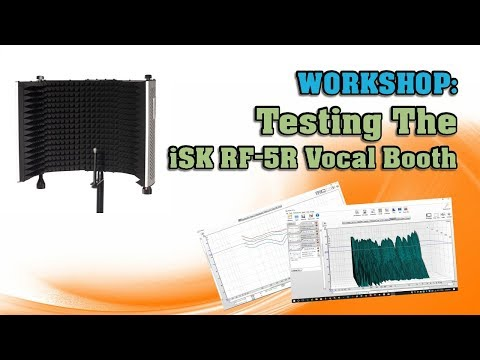 Testing The iSK RF 5R Vocal Booth