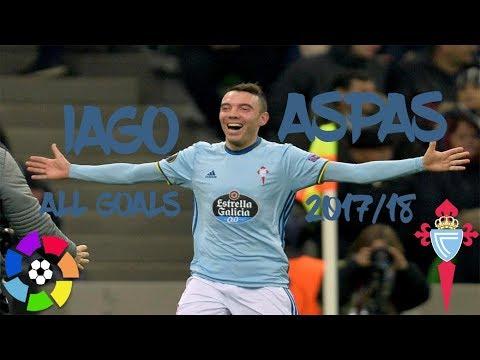Iago Aspas - The Galician Gem - La Liga Goals and Assists 2017/18